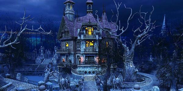 Horror House in an Amusement Facility